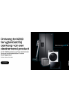 Samsung Wassen en drogen: Tot €400 cashback