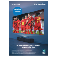 Samsung The Premiere: Cashback of gratis projectie scherm