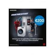 Samsung huishoudtoestellen: Tot €200 cashback