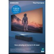 Samsung The Premiere: Cashback of gratis projectie scherm