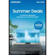 Samsung Summer Deals Cashback Neo QLED