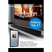 Samsung Cinematic Q-series: Galaxy Tab A7 (Lite) gratis