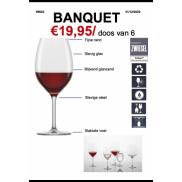 Schott Zwiesel Banquet Wijn 6 PCS