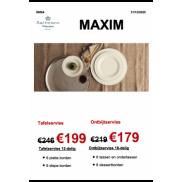 Seltmann Weiden: Maxim