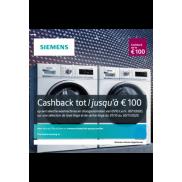 Siemens: Cashback Wasmachines/Droogkasten