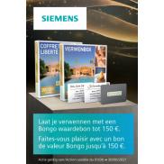 Siemens Espresso: Bongo Waardebon tot €150