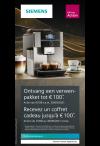 Siemens Espresso: Verwenpakket tot €100
