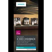 Siemens Espresso: Tot €300 cashback