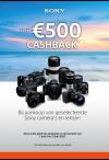 Sony: Cashback camera's en lenzen