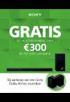 Sony: Cashback Soundbar