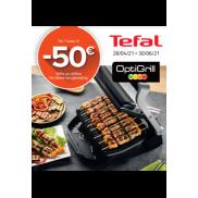Tefal Optigrill: Tot €50 cashback