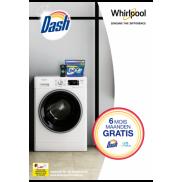 Whirlpool: 6 maanden gratis Dash & UNstopables wasmiddel