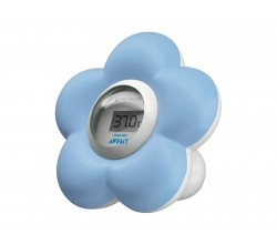 Avent Bad- en kamerthermometer Blauw SCH550/20 Philips