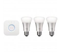 Hue White and Color Starter Pack E27 Philips