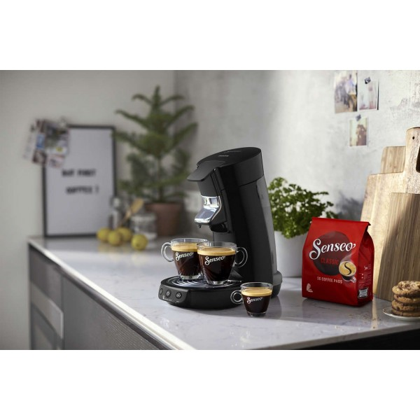 Senseo Viva Café HD6563/60 Deep Black Philips