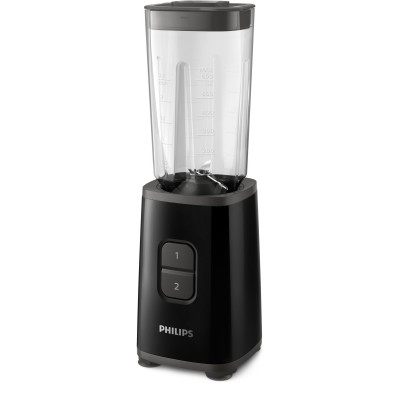 HR2603/90 Mini Blender, 0.6L, Noir Philips