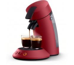 SENSEO® Original Plus Koffiepadmachine Deep Red Philips