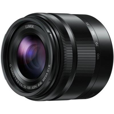 H-FS35100E-K 35-100mm/f4.0-5.6 Black Panasonic
