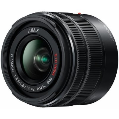H-FS1442AEKA 14-42mm/f3.5-5.6 II Black Panasonic