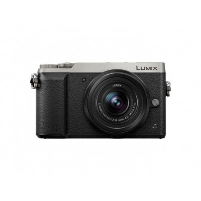 DMC-GX80K Body Zilver/Zwart + H-FS12032 lens Panasonic