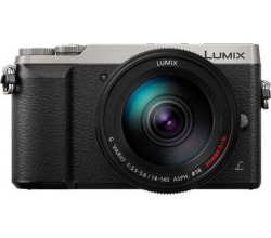 DMC-GX80H Zilver/Zwart Body + H-FS14140 lens Panasonic
