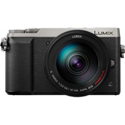 DMC-GX80H Argent/Noir Body + H-FS14140 lens Panasonic