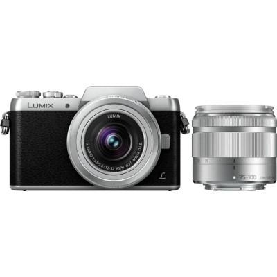DMC-GF7WEG-S + 12-32mm + 35-100mm Silver Panasonic