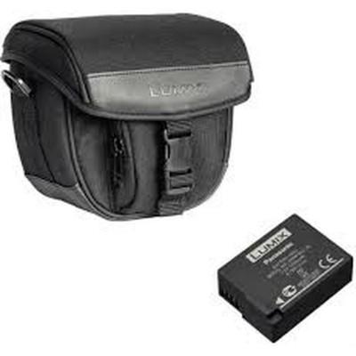 DMW-BLC12 accu + DMW-PZS87 Lumix Bridge camera tas Panasonic