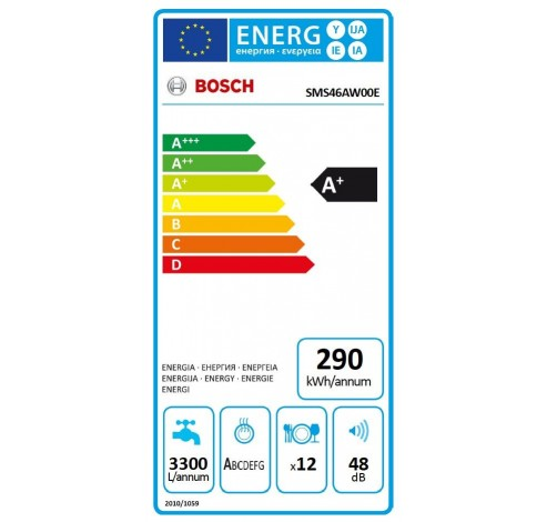 SMS46AW00E  Bosch