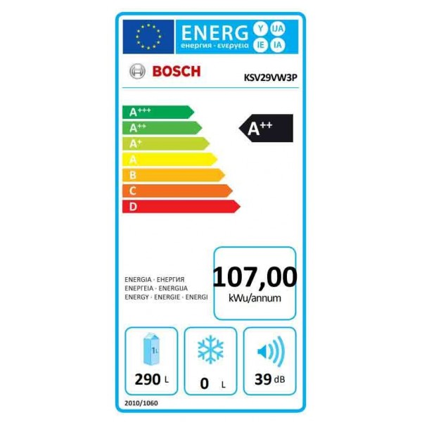 Bosch KSV29VW3P
