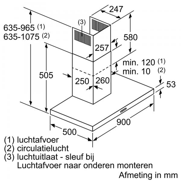 DWB94BC50 Bosch