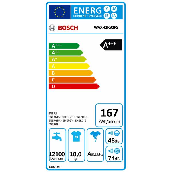 WAXH2K90FG Bosch