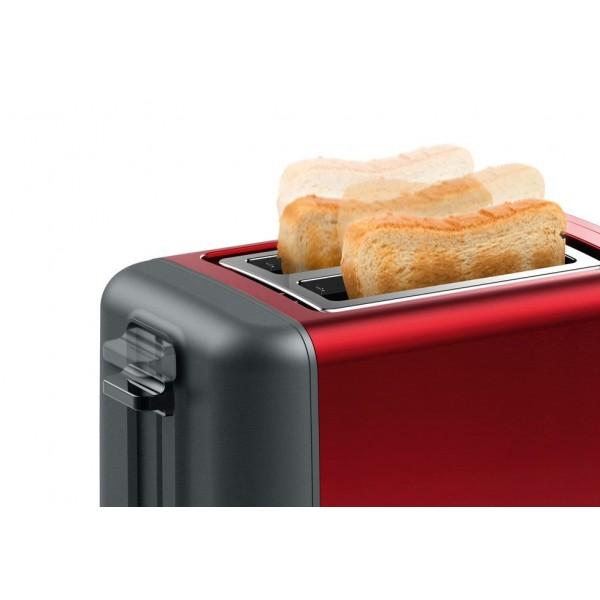 Broodrooster DesignLine Rood TAT3P424 Bosch