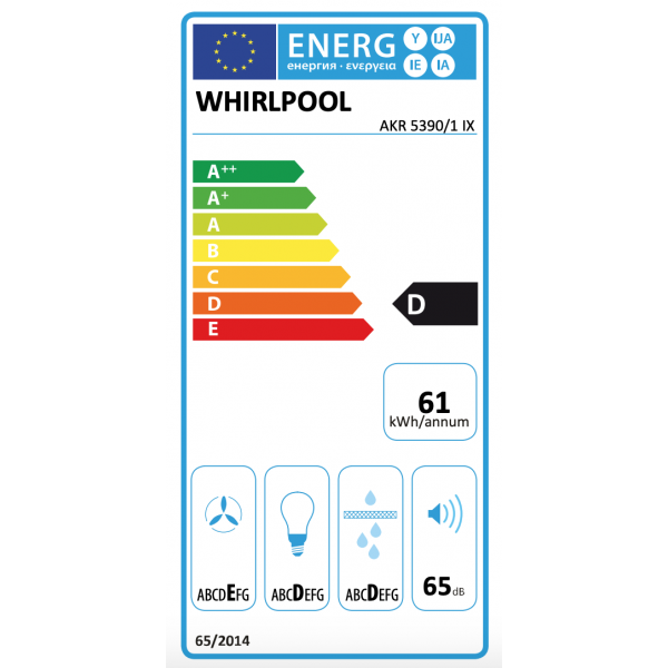 AKR 5390/1 IX Whirlpool
