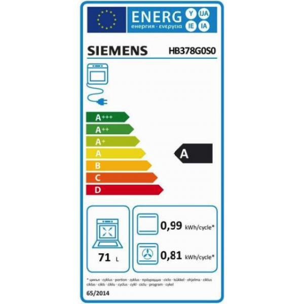 Siemens Oven HB378G0S0