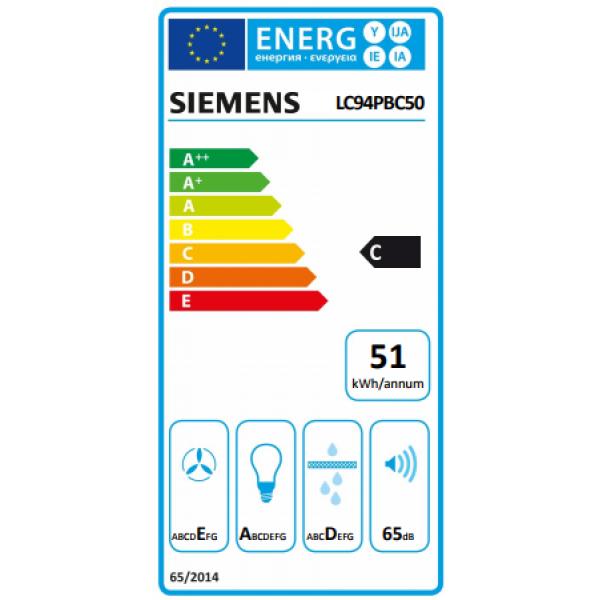 Siemens Dampkap LC94PBC50