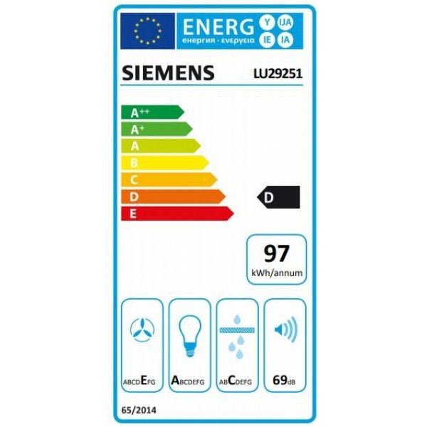 Siemens Dampkap LU29251