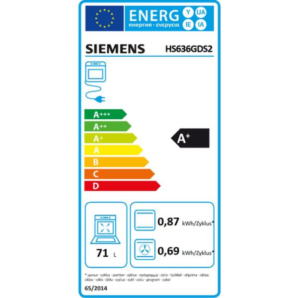 Siemens Oven HS636GDS2