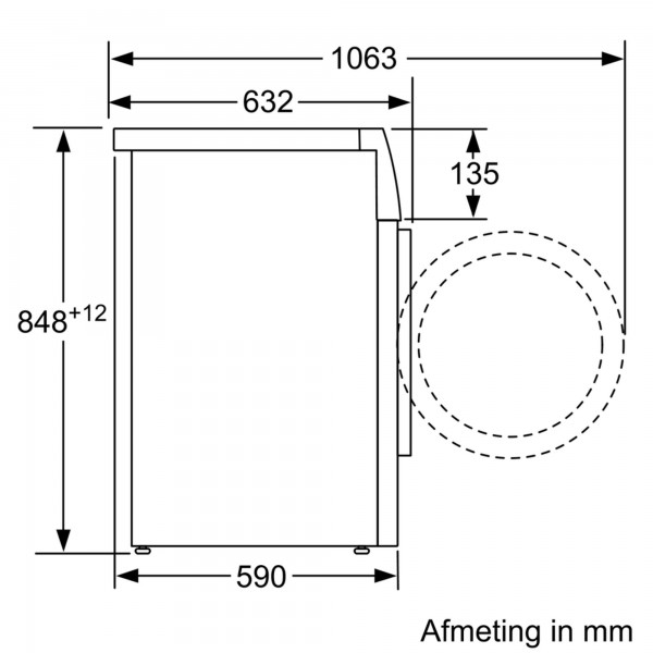Siemens Wasmachine WM14N292FG