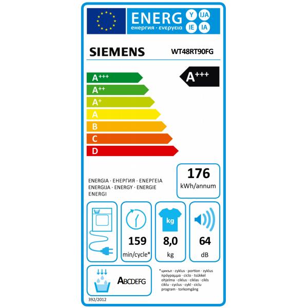 Siemens Droogkast WT48RT90FG