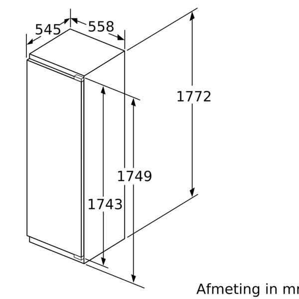 Siemens Koelkast inbouw KI81RAFE0