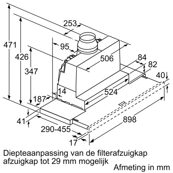 Siemens Dampkap LI97SA531