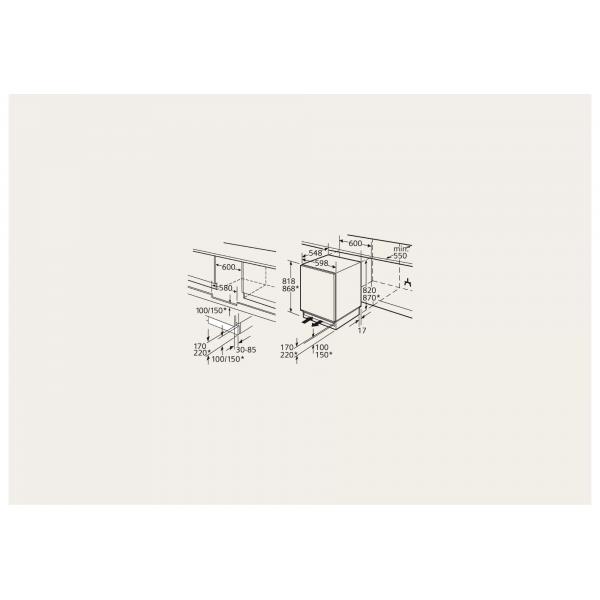 Siemens Koelkast inbouw KU15RA60
