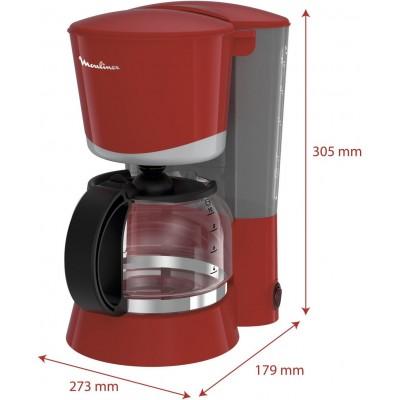 Koffiezetapparaat met filter Rood 1,25 L FG170