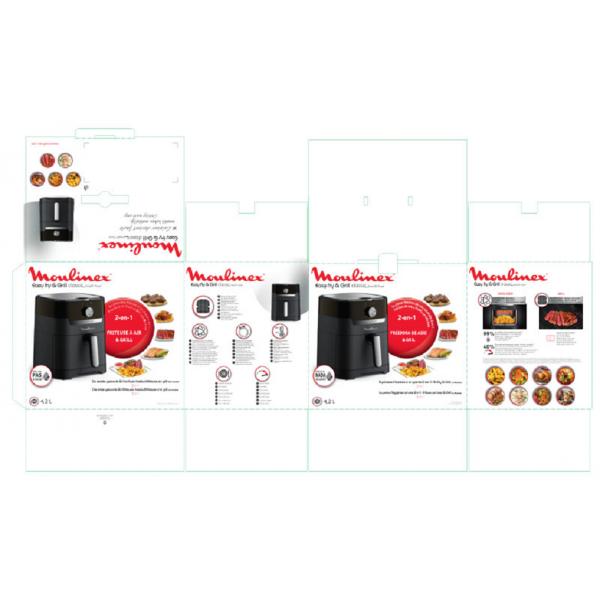 EZ501810 Easy Fry & Grill Meca Moulinex
