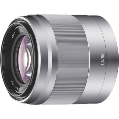 SEL50F18B Zilver Sony