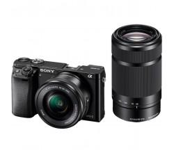 A6000YB + 16-50 + 55-210 Black Sony
