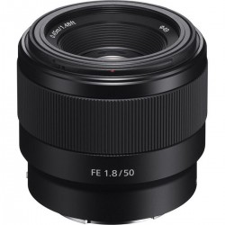 SEL 50mm F1.8 FF E-mount lens Full Frame