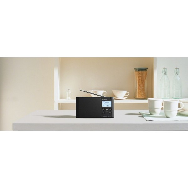 Sony Radio XDR-S41D Zwart