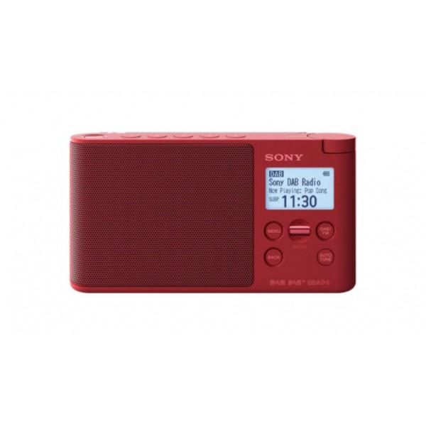 Sony Radio XDR-S41D Rood